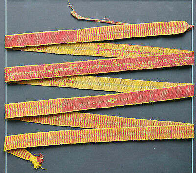 Sazigyo, Kammavaca manuscript binding ribbon, Burma, late 19th / early 20th c.