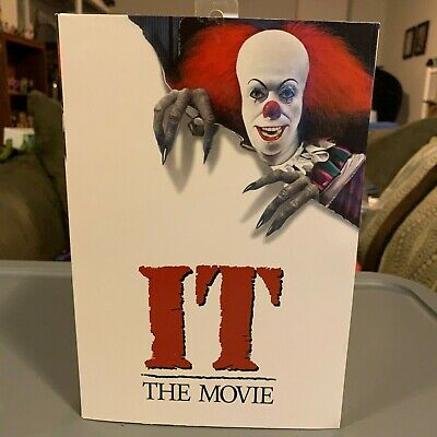 """IT (1990) - 7"""" Scale Action Figure - Ultimate Pennywise NECA"""