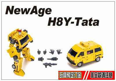 Pre-order Transformers  Newage NA H8Y Tata mini Ratchet Yellow version toy