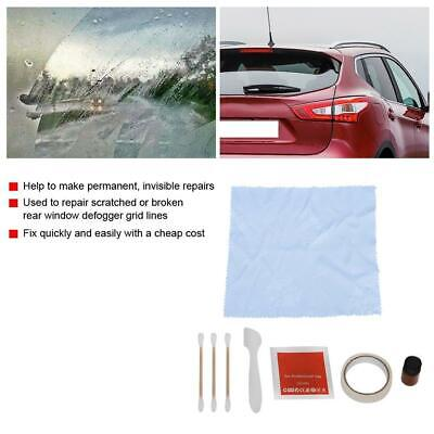 Rear Window Defogger Repair Kit Grid Lines Tab Make Permanent Invisible Fix Tool