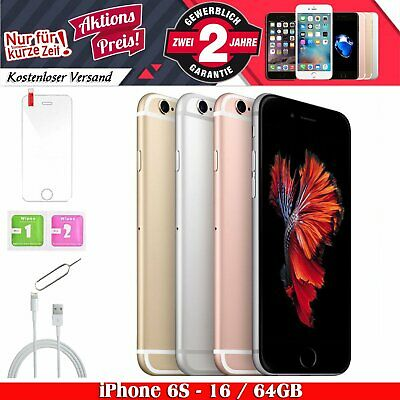 ☀️Apple iPhone 6S 16GB 64GB Smartphone Spacegrau / Silber / Gold / Rosegold