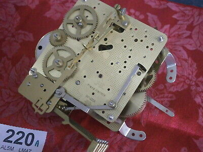 HERMLE 341-020A Clock MOVEMENT 35cm Pendulum Westminster Chime parts spares