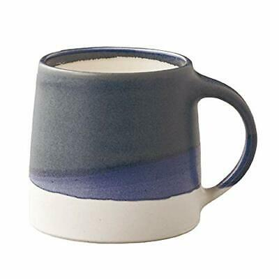 KINTO Mug Cup SCS-S03 320ml 0.32L Navy White Porcelain 20756 MADE IN Japan new.