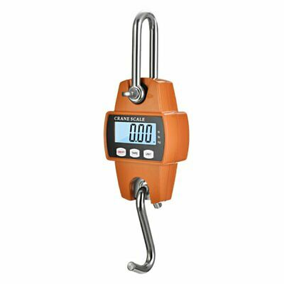 300kg 0.1kg Mini Portable Crane Scale LCD Digital Electronic Hook Hanging Scale