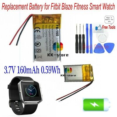 0.37Wh Upgrade//Cameron Sino Battery for Fitbit Surge Smartwatch Battery Li-Polymer 100mAh