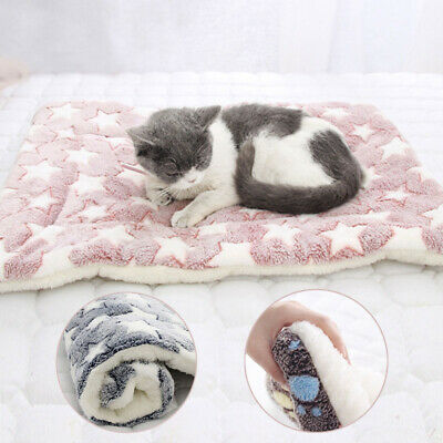 Pet Washable Home Blanket Cat Dog Bed Cushion Mattress Kennel Soft Crate Mat Fur