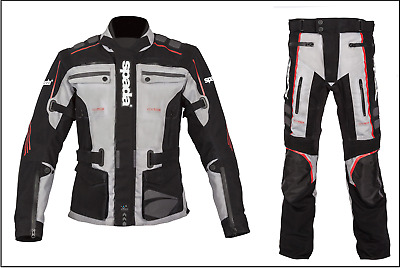 Spada Ascent Waterproof Textile Adventure Touring Riding Motorcycle Bike Suit