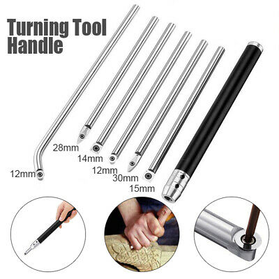 Wood Turning Tool Carbide Tip Chisel Square/Round Insert Lathe Rotary Cutter