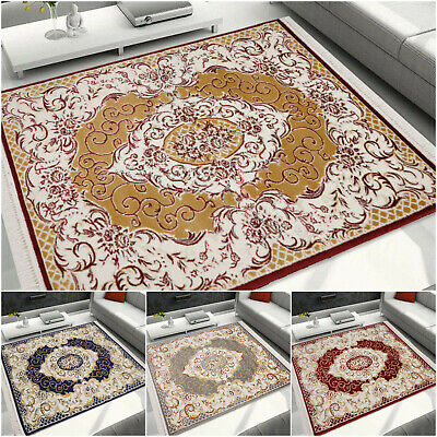 Large Extra Large Traditional Rugs Oriental Style Carpet Living Room Bedroom Mat