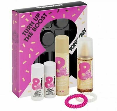 Toni & Guy Turn Up The Boost Hair Care Gift Set - Volume Shampoo Hairspray