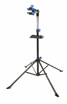 Bike Repair Work Stand With Bonus Tool Tray For Home Bicycle Mechanic Quick BP