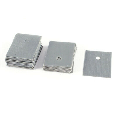TO-247 Transistor Silicone Insulator Insulation Sheet 26mmx20mm 50 Pcs A2A4