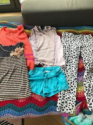 Bundle Of Girls Clothes Aged 8 Years - Mini Boden, Next, H&M