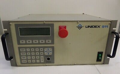 Aerotech Unidex 511 ES13929-1 Stage Controller AS IS Powers On