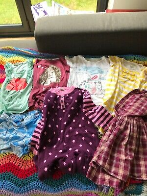 Girls Aged 4 Years Bundle  Tops/ Dresses Next Gap Etc