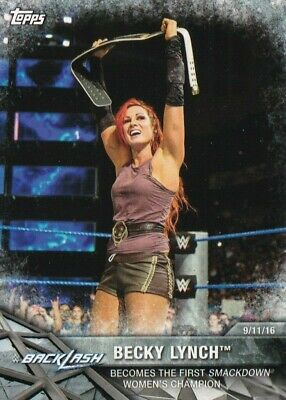 2017 Topps Wwe Women's Division, Moments #WWE-5 Becky Lynch