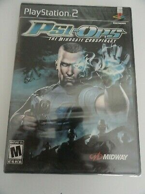 Psi-Ops: The Mindgate Conspiracy Sony Playstation PS2 NTSC USA GAME NEW SEALED