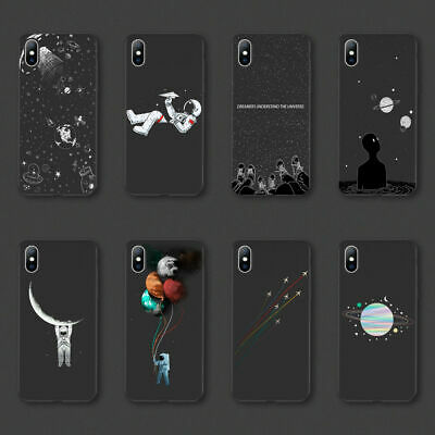 Planet Space Star Universe Phone Soft Case Cover For iPhone XR XS Max 8 6 7 Plus