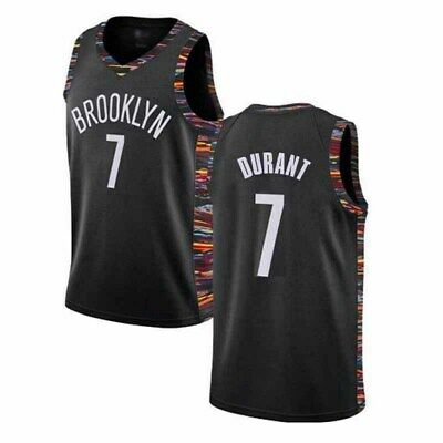 Brooklyn Nets #7 Kevin Durant Basketball Jersey City Edition Mens Vest T Shirt
