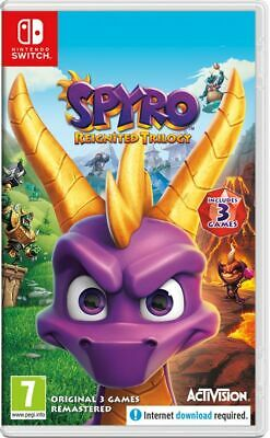 Spyro Reignited Trilogy (Nintendo Switch) New & Sealed UK PAL Free UK P&P