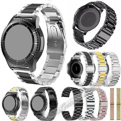Stainless Steel Metal Link Watch Strap Band For Fossil Q Smart Watch Bracelet