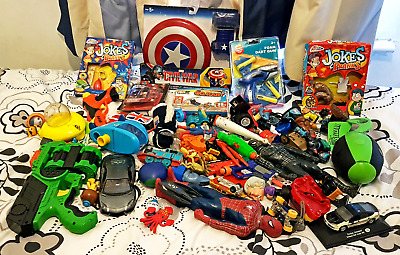 Mixed Assorted Toys 1kg+ Per Box (up to 6kg) Lot/Bundle/Collection