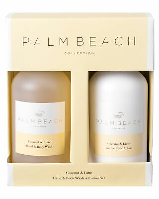 Palm Beach Collection Women's Coconut And Lime Hand And Body Gift Pack Yellow