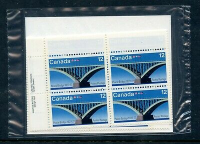 Weeda Canada 737ii VF MNH sealed M/S on Fluorescent paper CV $60