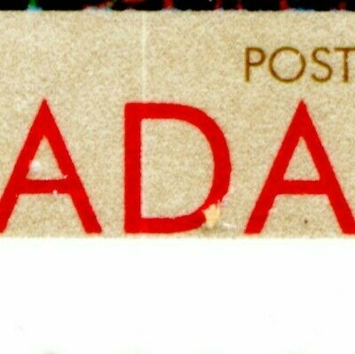 Weeda Canada 1636i Type I VF MNH pane with thin white line in D var CV $24