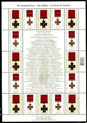 Weeda Canada 2066a VF MNH pane of 16, 2004 Victoria Cross issue CV $17.50