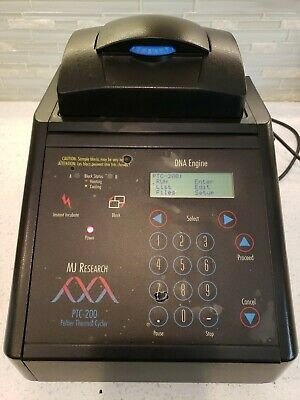 MJ Research PTC-200 PCR Thermal Cycler 96 Well Bio-Rad Gradient Cycler WORKS!