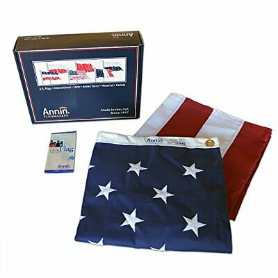 Annin Flagmakers Model 2710 American Flag 3x5 ft. Tough-Tex the Strongest, Longe