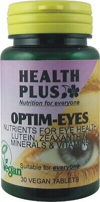 2 x bottles 30 Tablets EYE HEALTH - Contains 50mg Bilberry extract & 3mg Lutein
