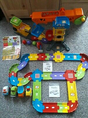 Vtech Toot Toot Drivers Construction Site Deleuxe Track & Vehicles Bundle