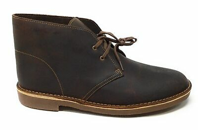 96a1a10dea9 CLARKS MENS BUSHACRE 2 Chukka Ankle Boot Brown Beeswax Size 10.5 M US