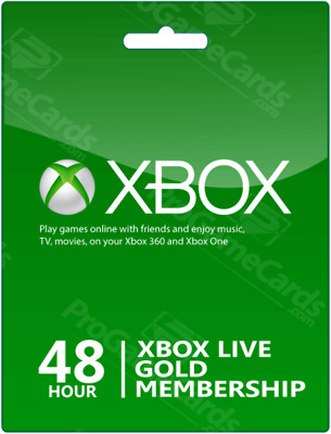 48 Hour XBOX LIVE Gold Subscription Trial