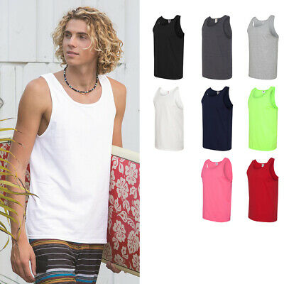 Fruit Of The Loom Mens High Density Cotton Tank Top Sizes S-3Xl - 39Tkr