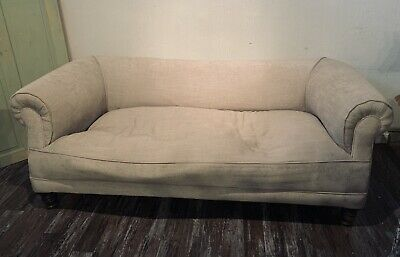 Antique Victorian 3-Seater Chesterfield Sofa - Superb For Restoration