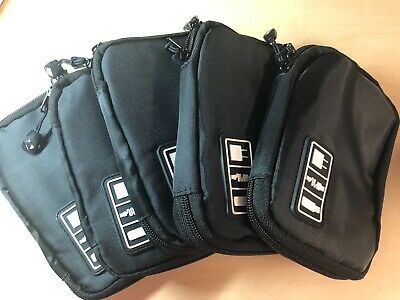 Set of 5 New Travel Pouches Organizer for Cellular Accessories & More -5 Pouches