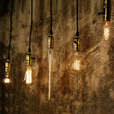 1 X Retro Filament Edison Antique Industrial Style Lamp Light Bulb E27 40W