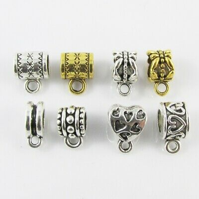 Bulk European Bail Findings Clasp Gold or Silver Multiple Designs Select Qty