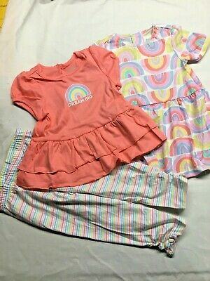 93407B^ 0-6m /& 6-9m Baby Clothing 5 Pc Boys Embroidered Play Wear Sets Sizes