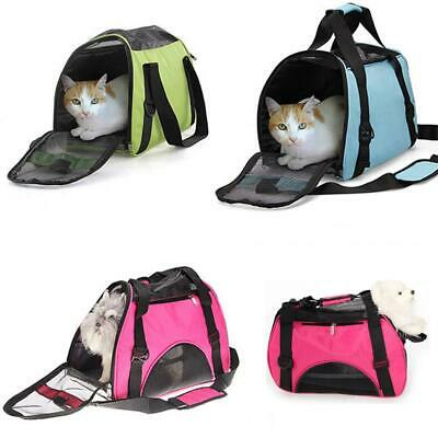 Small/Medium/Large Nylon & Mesh Pet Carrier Tote Bag Travel Airline Approved