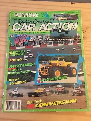 Rc Car Action >> Vintage Rc Car Action Magazine November 1988