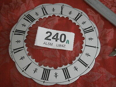 Slivered Skeleton Clock DIAL mantle parts Elliott Thwaites & Reed movement 240A