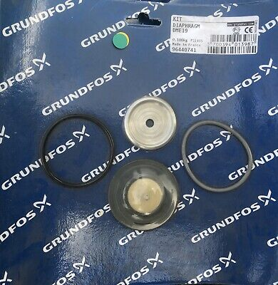 Grundfos Kit Diaphragm DME19 96440741 #1605 VAT Inc