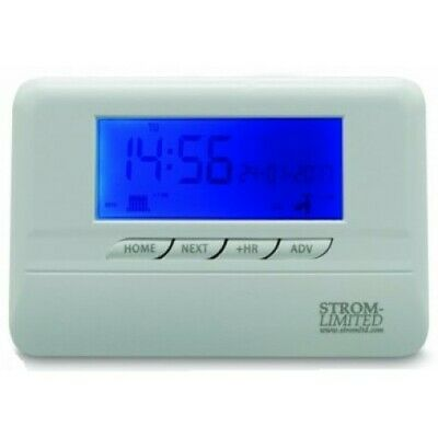 Programmable Room Thermostat Digital 7 Day 5//2 Stat with LCD Display TEAMS BNIB