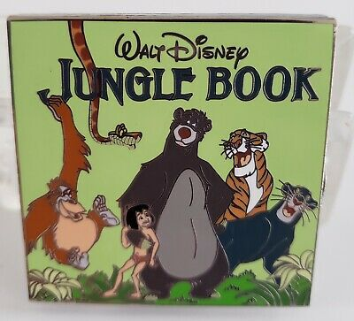 Disney Vintage Vinyl Pin Of The Month - Jungle Book Le 3000 Pin-Free Shipping!