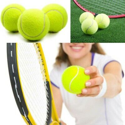 Tennis Balls Sports Tournament Outdoor Cricket Beach Dog Toy Game Great Bou X4Z7