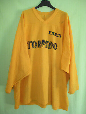 Maillot Hockey TORPEDO CCM Europa Cup Porté #12 Vintage NHL Ice Jersey - XL